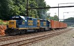 CSX Road Slug 2303 leads Q706-11